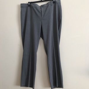 CHRISTOPHER & BANKS straight leg dress slacks 22